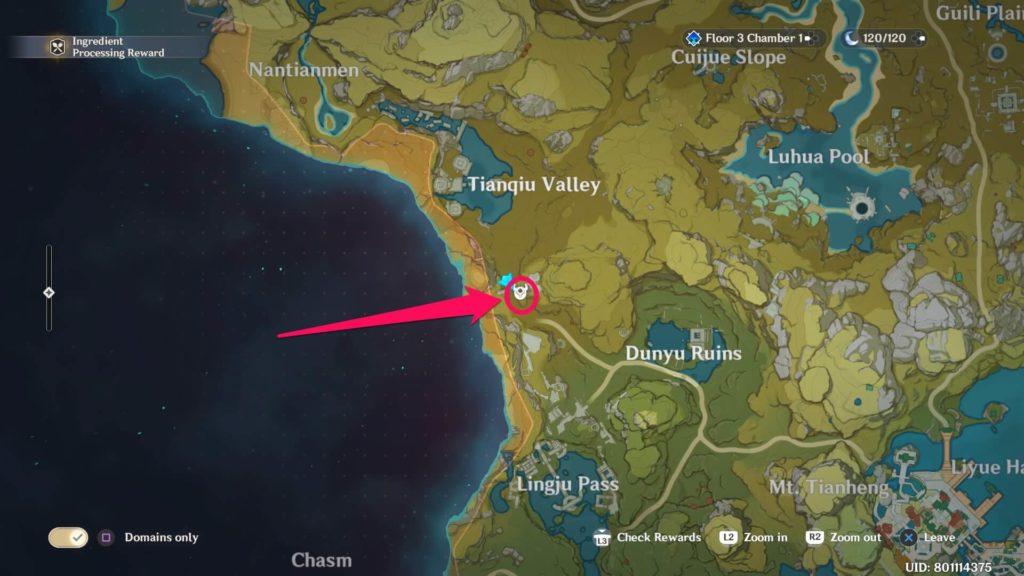 детеныш гео вишапа в южной части долины тяньцю