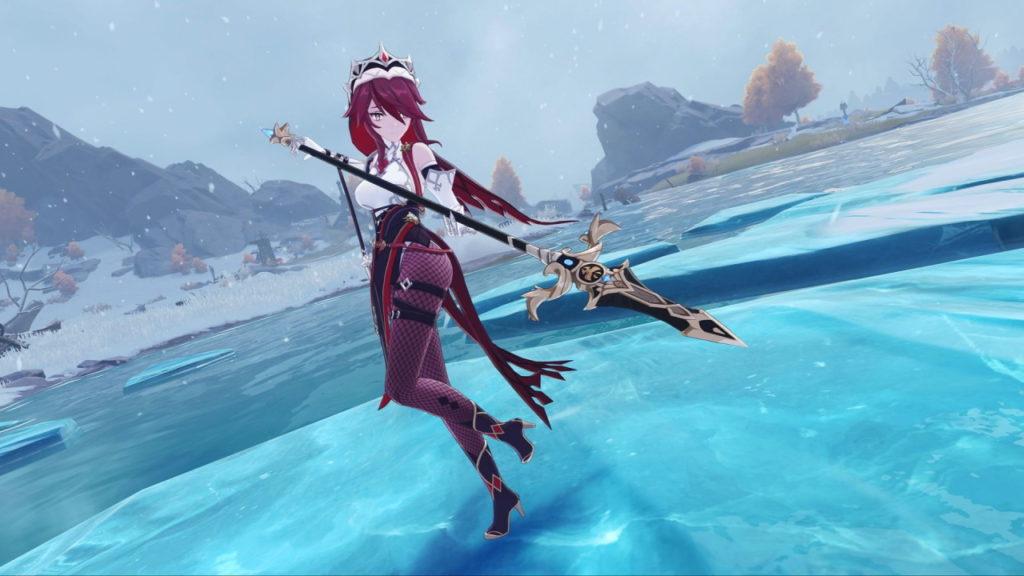 Розария - персонаж из Genshin Impact