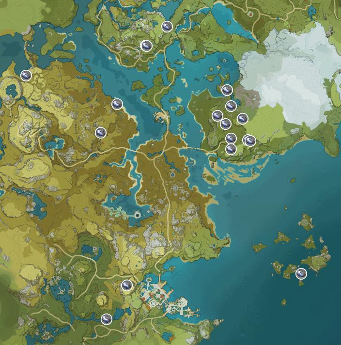 карта полуночного нефрита genshin impact