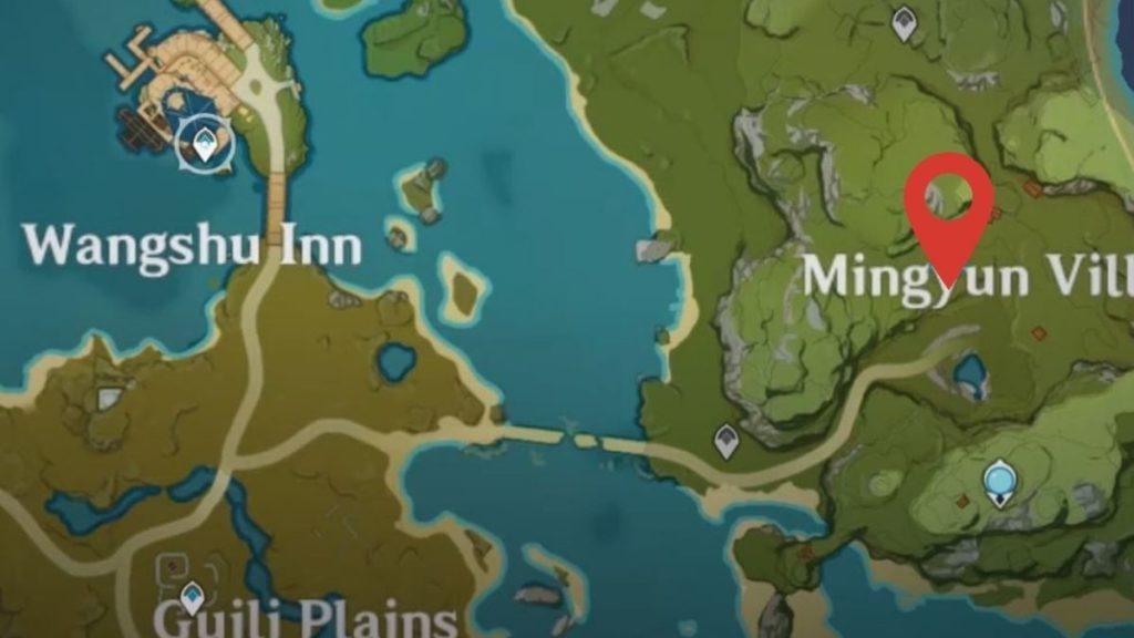 Деревня Минь Юнь genshin impact