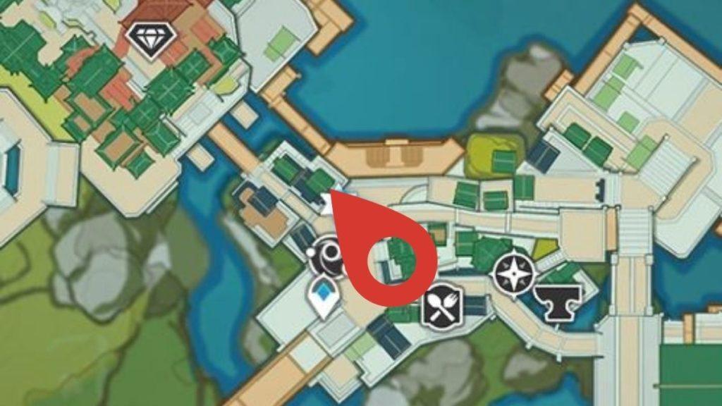 местоположение торговца Шитоу, у которого можно купить Полуночный нефрит