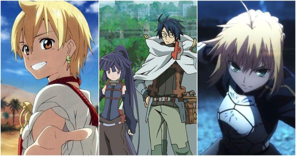 аниме в стиле Genshin Impact