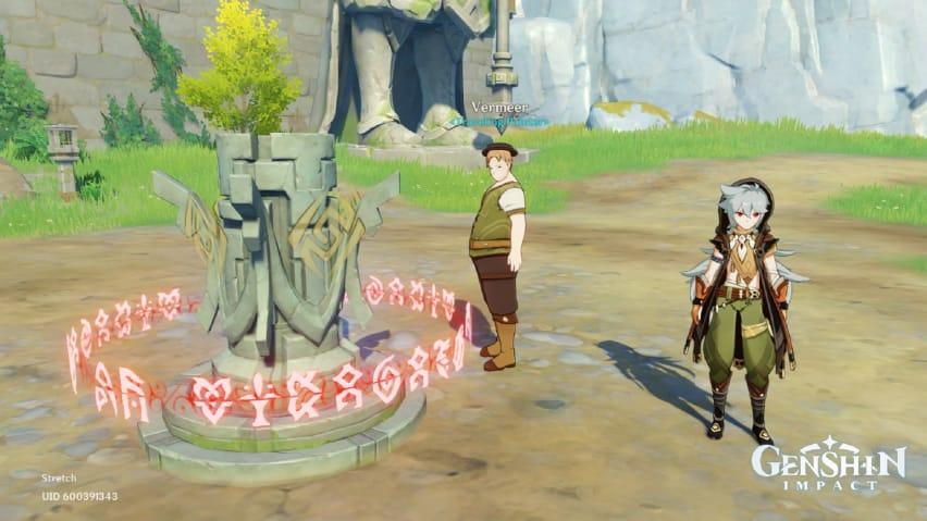 Пейзаж Лухуа - квест в игре genshin impact