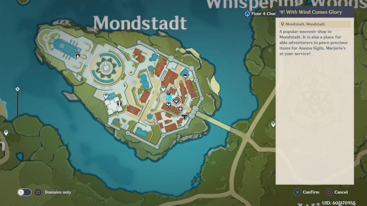 Monstadt Souvenir Shop Genshin Impact