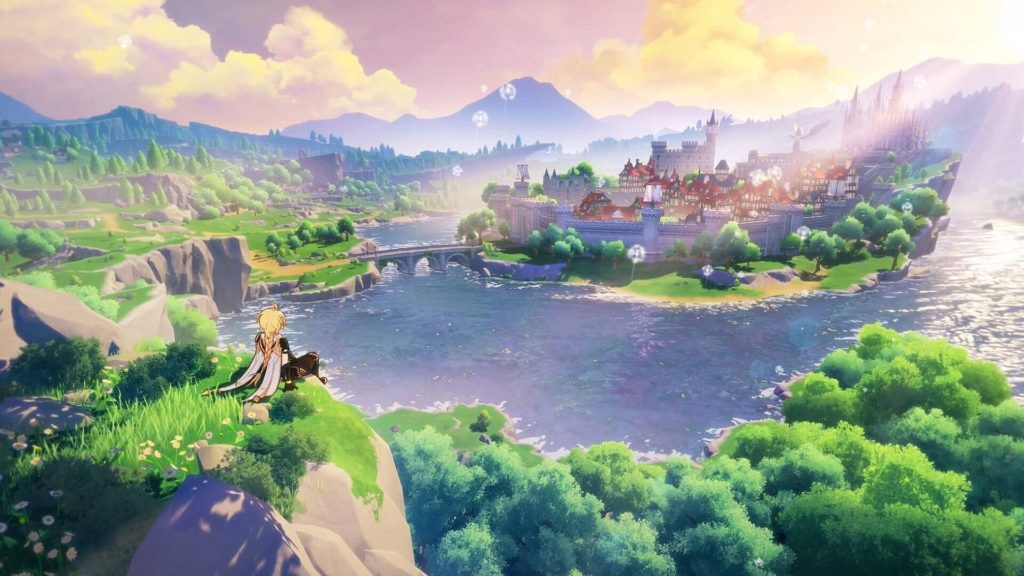 Genshin Impact - лучшая игра года в Google Play