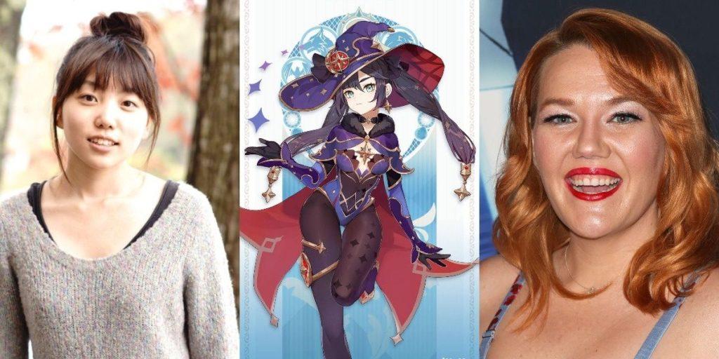 актрисы которые озвучили мону в genshin impact