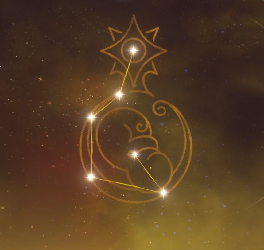 Меловой Принцепс - созвездие Альбедо