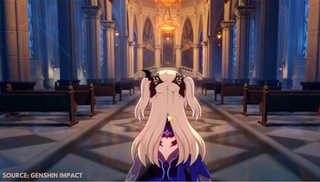 Квест Зимняя сказка Genshin Impact