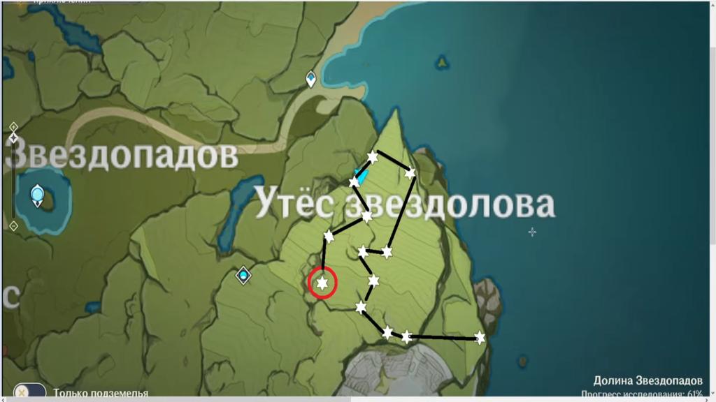 расположение цветов Сесилии на карте Genshin Impact
