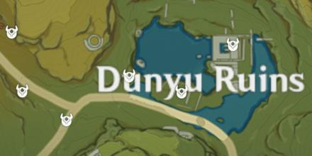 карта застрельщиков genshin impact