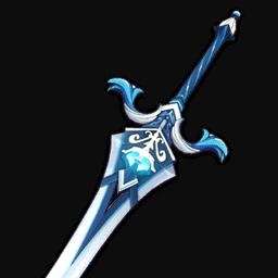 Церемониальный меч genshin impact