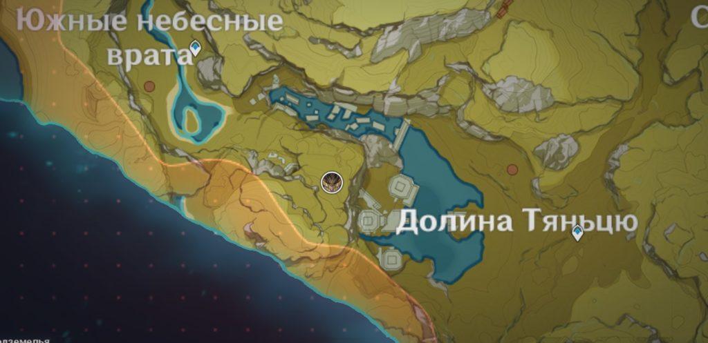 Местоположение древнего геовишапа genshin impact