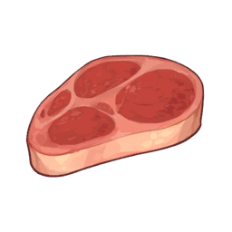 genshin impact сырое мясо