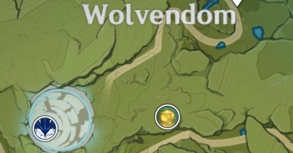 Артерия земли в Мондштадте