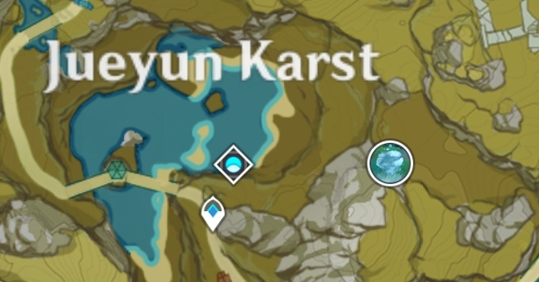 Артерия земли в Ли Юэ