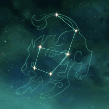 созвездие джинн - благородная львица