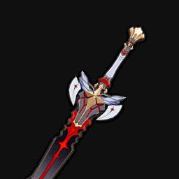 чёрный меч genshin impact