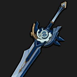 двуручный меч белая тень genshin impact