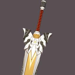 каменный меч genshin impact