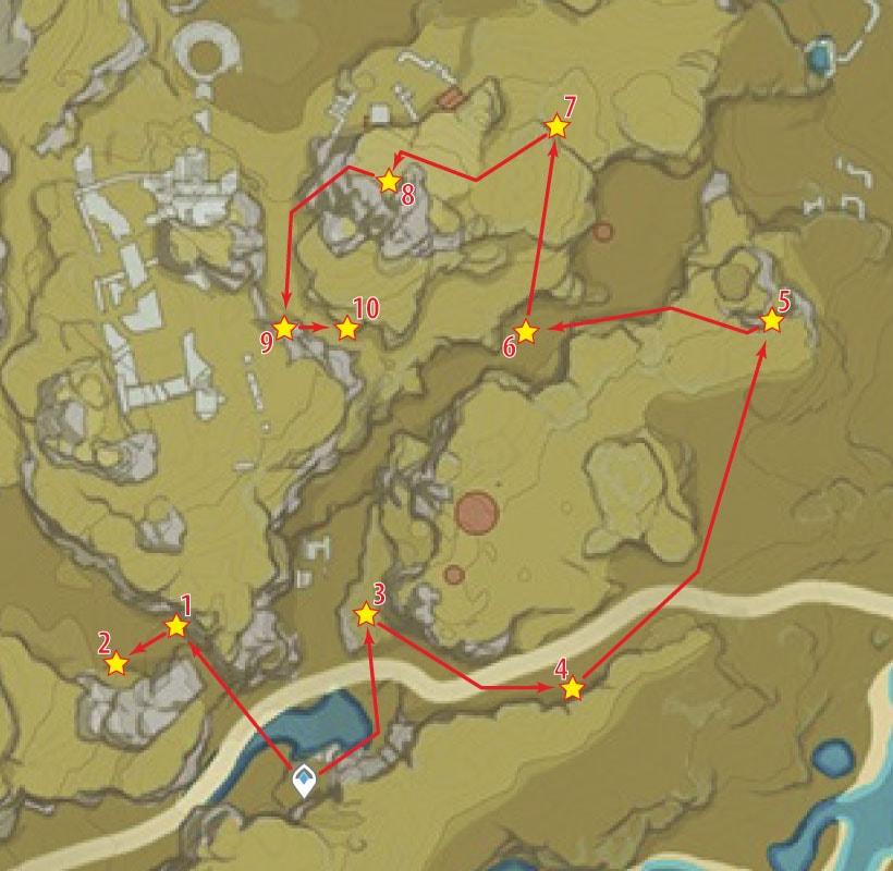 маршрут фарма кор ляписа в заоблачном пределе