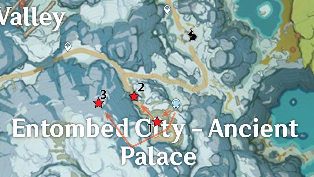 карта багровых агатов genshin impact