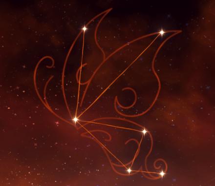 созвездие Ху Тао - Бабочка Харона