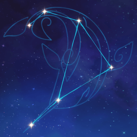 созвездие Тартальи - Небесный кит