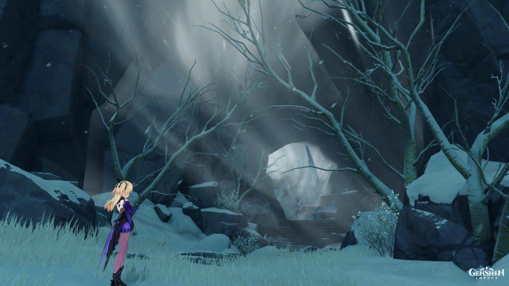 Ветер в пещере genshin impact