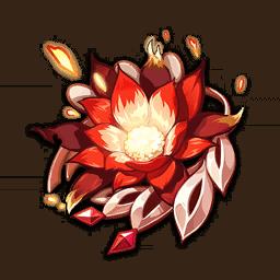 Ведьмин огненный цветок genshin impact