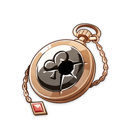 Карманные часы азартного игрока genshin impact