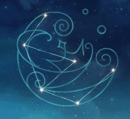 созвездие Эолы - Морская пена