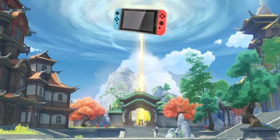 Genshin Impact на Nintendo Switch
