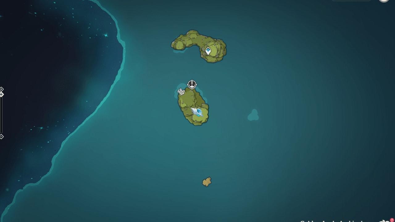 раковина эха на карте