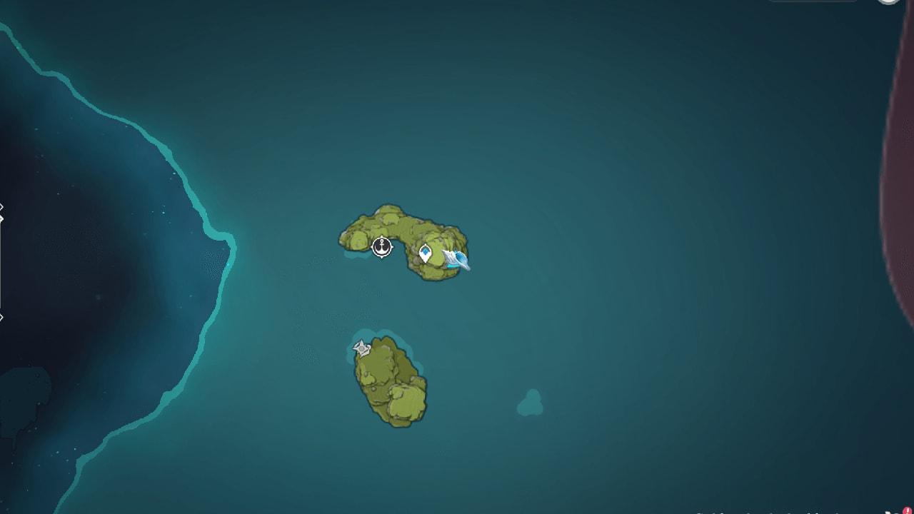 раковина эха на карте 2