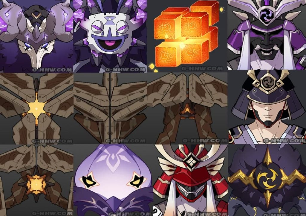 Мобы и боссы обновления Genshin Impact 2.0