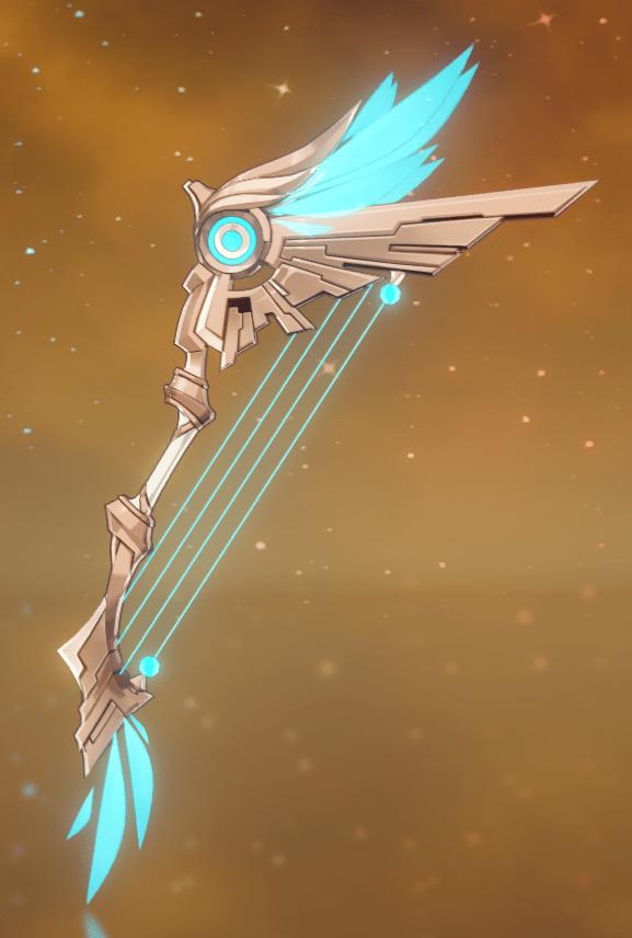 Лук Небесное крыло genshin impact
