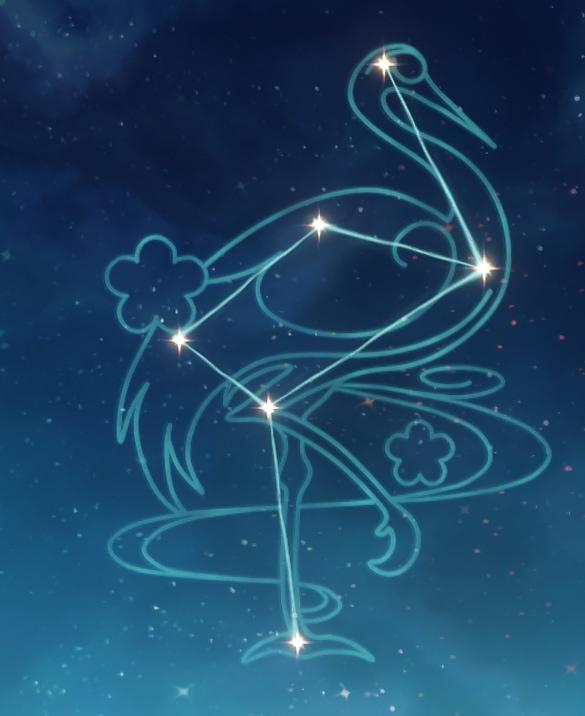Созвездие Аяки - Снежный журавль