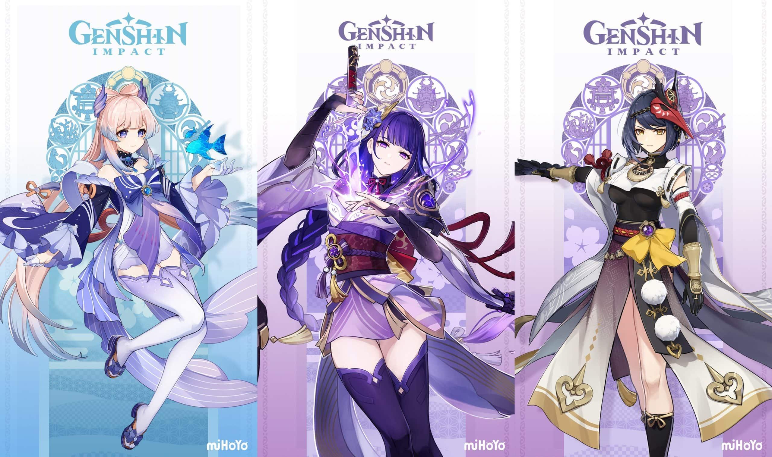 Обновление Genshin Impact 2.1