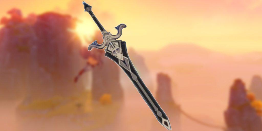Королевский двуручный меч genshin impact