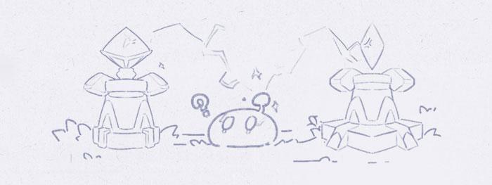 решение загадки с электрическими камнями в genshin impact