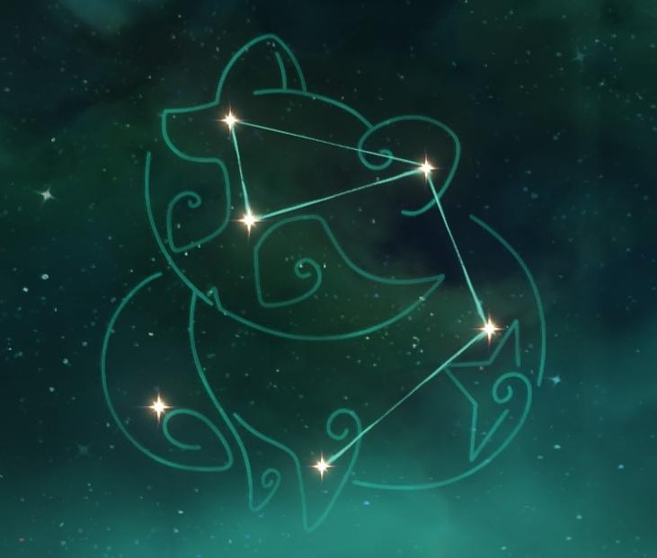 Созвездие Саю - Малый Мудзина