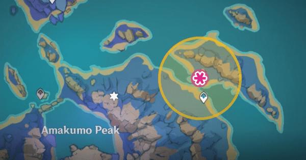 Расположение второго Запирающего камня