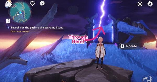 Как добраться до Запирающего камня