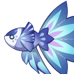Кристальная рыба genshin impact