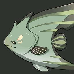 Чайная рыба-бабочка genshin impact