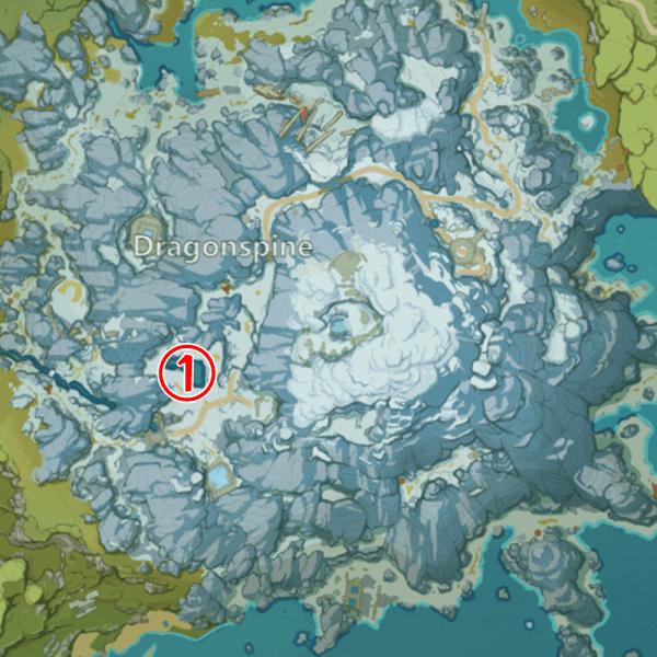 Все места где можно поймать рыбу на Драконьем хребте