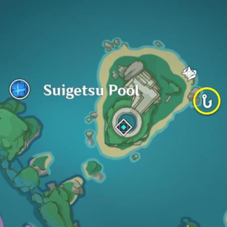 Восьмое место для рыбалки в Инадзуме