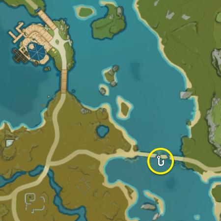 место где можно поймать золотого лжедракона в Ли Юэ