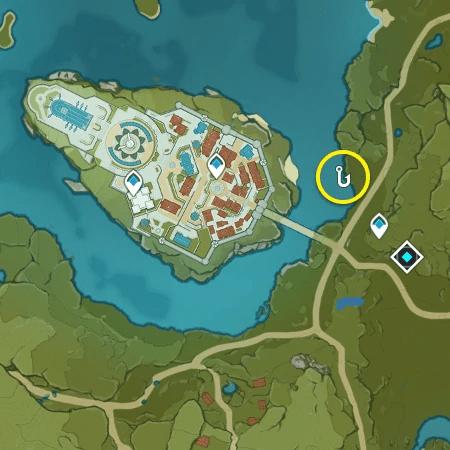 Лучшее место для ловли Стального лжедракона
