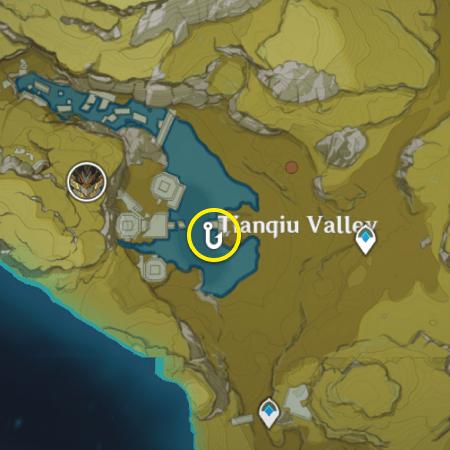Где можно поймать оризию в genshin impact